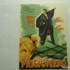 Cine: PROGRAMA EL PRISIONERO -ALEC GUINNES. Lote 262325430