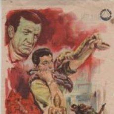 Foglietti di film di film antichi di cinema: PROGRAMA DE CINE PELI LOS MISTERIOS DE ANGKOR SALON ALCAZAR DE MAHON 1962. Lote 262456025