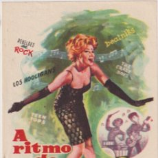 Cine: A RITMO DE TWIST. SENCILLO. CINE CLAVÉ. CAMPDEVANOL. Lote 262682495