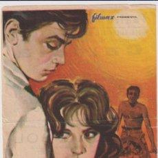 Cine: A PLENO SOL. SENCILLO DE FILMAX. TEATRO CINE LORETO. SEVILLA. Lote 262682505