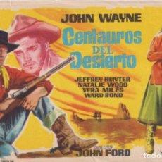 Cine: CENTAUROS DEL DESIERTO. SENCILLO DE WB. Lote 262682545