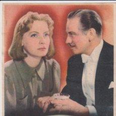 Cine: NINOTCHKA. SENCILLO DE MGM. COLISEO ESPAÑA. SEVILLA 1949. Lote 262682580