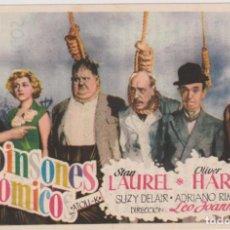 Cine: ROBINSONES ATÓMICOS. SENCILLO DE CHAMARTÍN. CINE COLISEO. ¡IMPECABLE!. Lote 262683060