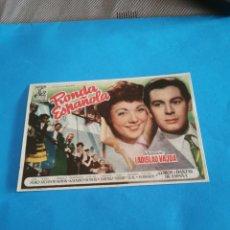 Folhetos de mão de filmes antigos de cinema: PROGRAMA DE MANO ORIG - RONDA ESPAÑOLA - CON CINE DE RUTE IMPRESO AL DORSO. Lote 263039855