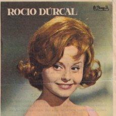 Cine: LA CHICA DEL TREBOL .- ROCIO DURCAL. Lote 263063090