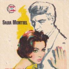 Cine: PECADO DE AMOR .- SARA MONTIEL. Lote 263063410