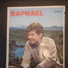 Cine: RAPHAEL. CINE EL JARDIN. FIGUERAS. AÑOS 68 - VELL I BELL. Lote 263073450
