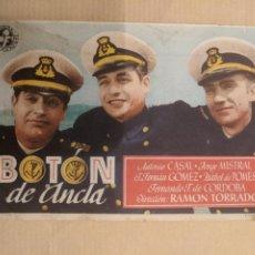 Cine: BOTON DE ANCLA. CINE MODERNO. GERONA. AÑO 1948. VELL I BELL. Lote 263088275
