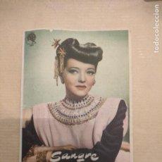 Cine: SANGRE SOBRE EL SOL. CINE ROSAS, ROSAS, GERONA. AÑOS 1960. VELL I BELL. Lote 263091085