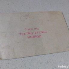 Cine: VINAROZ. ANTIGUO TEATRO ATENEO AÑO 1933. HAY QUE CASAR AL PRINCIPE. Lote 263111390