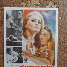 Cine: FOLLETO DE MANO DE LA PELÍCULA EL COMPROMISO. Lote 263167915