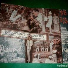 Cine: FOLLETO CINE DOBLE DE ISLA EN ISLA CON MARLENE DIETRICH 1940. Lote 263177345