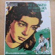 Cine: MAÑANA SERÁ TARDE.. DIBUJO SOLIGO. AÑO 1940-50 VELL I BELL. Lote 263193785