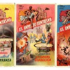 Flyers Publicitaires de films Anciens: EL CORONEL BLOOD, CON FRANK CELLIER.. Lote 263758815