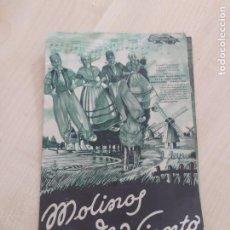 Cine: FOLLETO DE MANO DOBLE MOLINOS DE VIENTO , AÑO 1939. Lote 264056210
