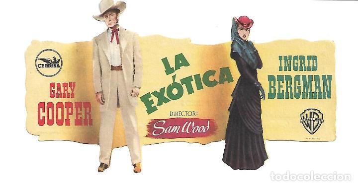 PROGRAMA DE CINE TROQUELADO - CON PUBLICIDAD (Cine - Folletos de Mano - Comedia)