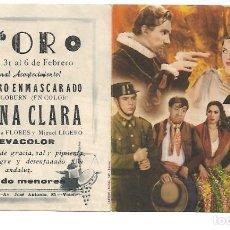 Cine: PROGRAMA DE CINE DOBLE - CON PUBLICIDAD. Lote 264686699