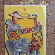 Folhetos de mão de filmes antigos de cinema: FOLLETO DE MANO DE LA PELÍCULA DUMBO. Lote 265131069