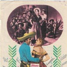 Folhetos de mão de filmes antigos de cinema: PROGRAMA DE CINE - SERENATA EN MÉJICO - ROSITA QUINTANA, LUIS AGUILAR - CINE ALKAZAR (MÁLAGA) - 1956. Lote 266060093