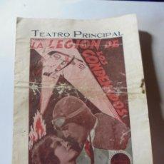 Cine: MAGNIFICO ANTIGUO PROGRAMA DE CINE DOBLE LA LEGION DE LOS CONDENADOS. Lote 266349498