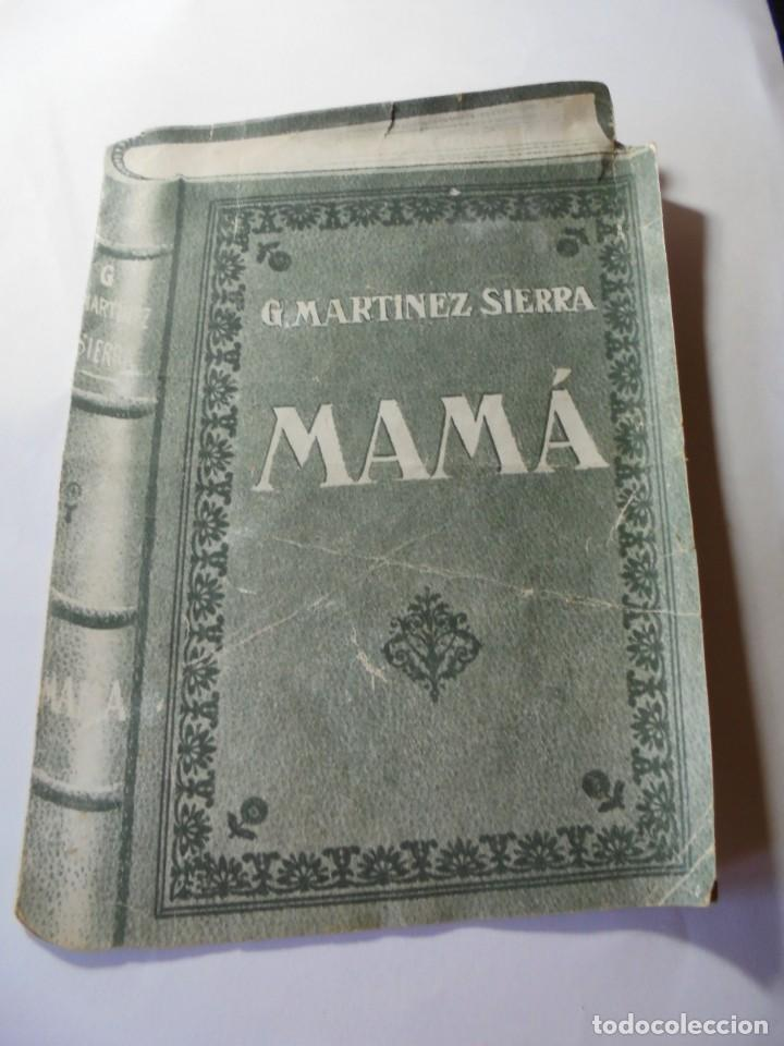 MAGNIFICO ANTIGUO PROGRAMA DE CINE DOBLE MAMA (Cine - Folletos de Mano - Drama)