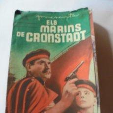Cine: MAGNIFICO ANTIGUO PROGRAMA DE CINE DOBLEELS MARINS DE CRONSTADT. Lote 266355343