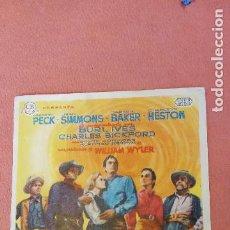 Folhetos de mão de filmes antigos de cinema: HORIZONTES DE GRANDEZA. GREGORY PECK. JEAN SIMONS.. Lote 266860124