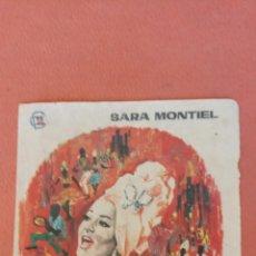 Folhetos de mão de filmes antigos de cinema: SAMBA. SARA MONTIEL. MARC MICHEL.. Lote 266861919