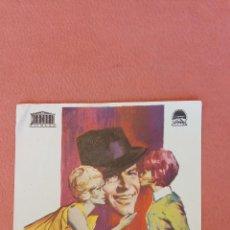 Folhetos de mão de filmes antigos de cinema: GALLARDO Y CALAVERA. FRANK SINATRA.. Lote 266862864