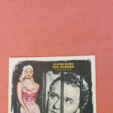 Folhetos de mão de filmes antigos de cinema: ESPOSA CULPABLE. DIANA DORS. ROD STEIGER.. Lote 266863004