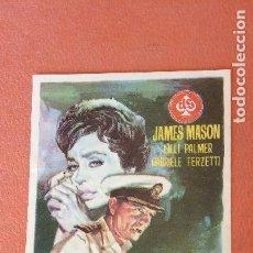 Folhetos de mão de filmes antigos de cinema: DUELO EN EL MAR. JAMES MANSON. LILLI PALMER.. Lote 266869944