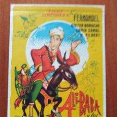 Folhetos de mão de filmes antigos de cinema: ALI BABA Y LOS 40 LADRONES. Lote 266923829