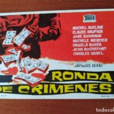 Cine: RONDA DE CRIMENES. Lote 266933104