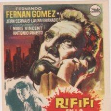 Cine: RIFIFÍ EN LA CIUDAD. SENCILLO DE CEPICSA. Lote 294140198