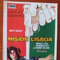 Cine: MISION LISBOA. Lote 267334574