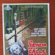 Cine: LA TIENDA EN LA CALLE MAYOR. Lote 267335434