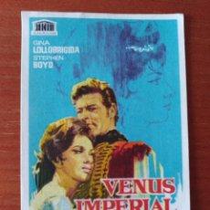 Cine: VENUS IMPERIAL (CON PUBLICIDAD). Lote 267337709