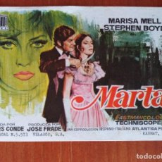 Cine: MARTA. Lote 267338689