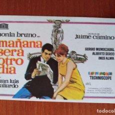 Cine: MAÑANA SERA OTRO DIA. Lote 267338889