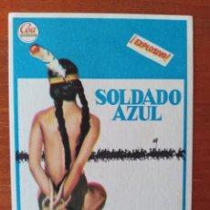 Cine: SOLDADO AZUL. Lote 267339154