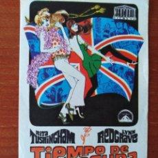 Cine: TIEMPO DE LOCURA. Lote 267339834