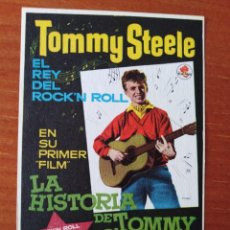 Cine: LA HISTORIA DE TOMMY STEELE. Lote 267341099