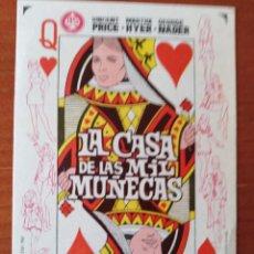 Cine: LA CASA DE LAS MIL MUÑECAS. Lote 267342074