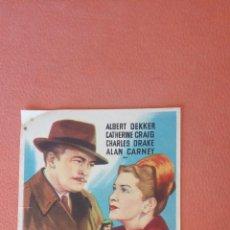 Folhetos de mão de filmes antigos de cinema: YO SOY MI ASESINO. ALBERT DEKKER. ALAN CARNEY.. Lote 267574159