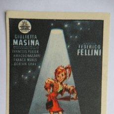Cine: LA NOCHE DE CABIRIA - FEDERICO FELLINI. Lote 268044149