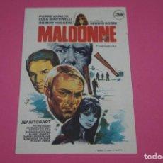 Cine: FOLLETO DE MANO PROGRAMA DE CINE MALDONNE SIN PUBLICIDAD LOTE 85 MIRAR FOTOS. Lote 268599129