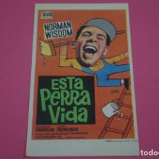 Cine: FOLLETO DE MANO PROGRAMA DE CINE ESTA PERRA VIDA SIN PUBLICIDAD LOTE 85 MIRAR FOTOS. Lote 268599599