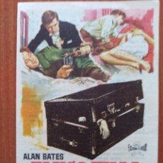 Flyers Publicitaires de films Anciens: FANGO EN LA CUMBRE (CON PUBLICIDAD). Lote 268733479