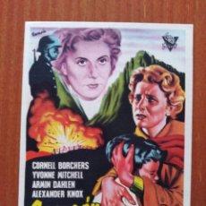 Flyers Publicitaires de films Anciens: CORAZON DIVIDIDO ( CON PUBLICIDAD). Lote 268735349