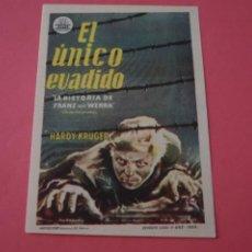 Cine: FOLLETO DE MANO PROGRAMA DE CINE LOS BOSQUES DE MIS SUEÑOS SIN PUBLICIDAD LOTE 86 MIRAR FOTOS. Lote 268735674